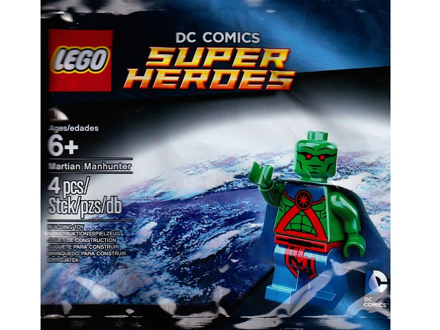 LEGO Polybag - Super Heroes: Justice League Martian Manhunter set 5002126