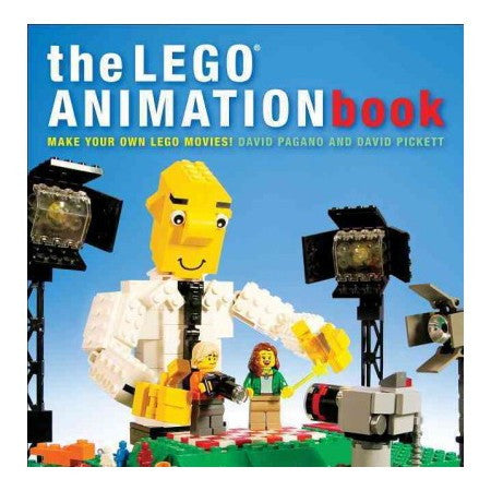 the LEGO ANIMATION Book by David Pickett and David Pagano -Autographed