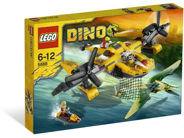 LEGO Dino Ocean Interceptor set 5888