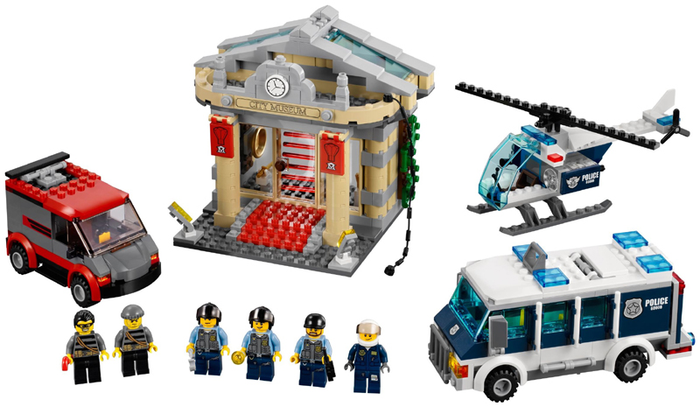 LEGO City Police: Museum Break-In 60008 - CEO Parker's LEGO Collection - Used LEGO Complete