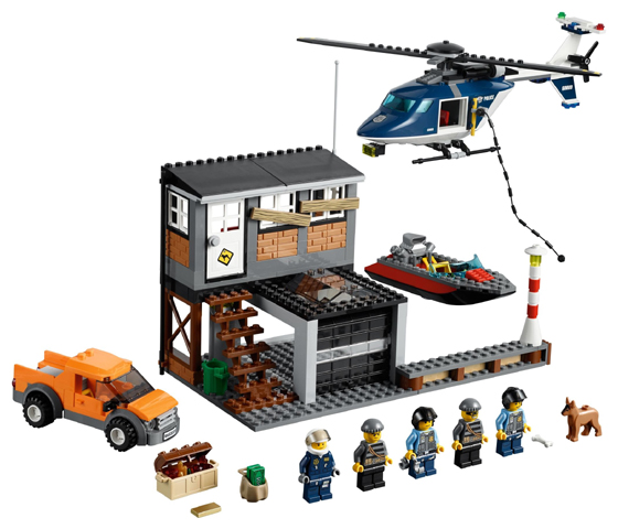 LEGO City Police Helicopter Arrest 60009 - CEO Parker's LEGO Collection - Used LEGO Complete