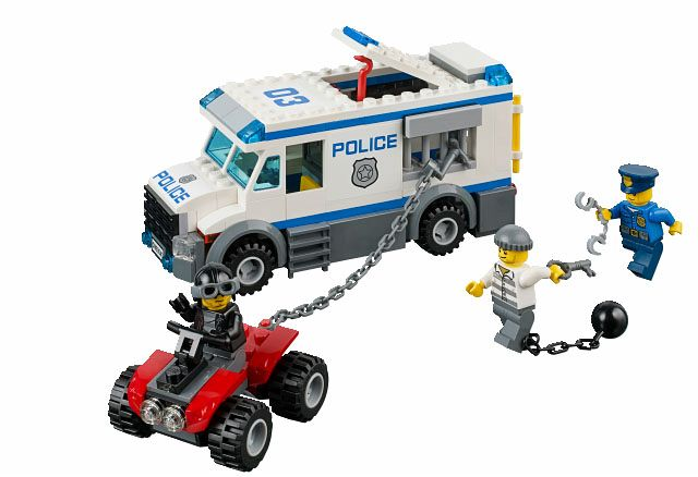 LEGO City Police: Prisoner Transporter 60043 - CEO Parker's LEGO Collection - Used LEGO Complete
