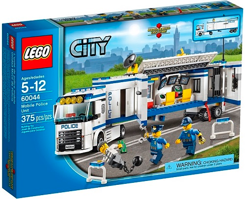 LEGO City Town Mobile Police Unit set 60044