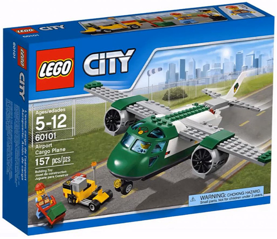 LEGO City Airport Cargo Plane 60101  - CEO Parker's LEGO Collection - Brand NEW Sealed