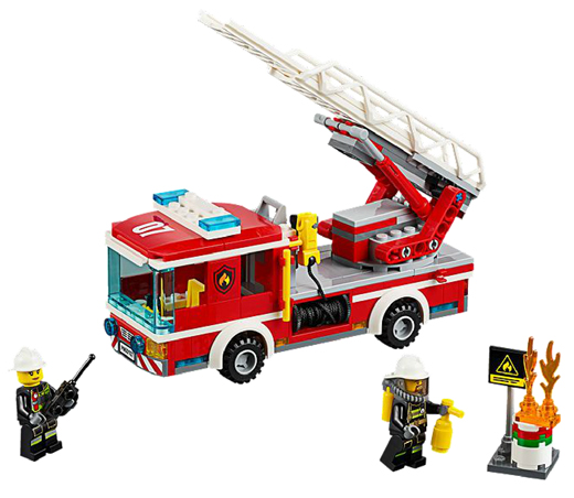 LEGO City Fire Ladder Truck 60107 - CEO Parker's LEGO Collection - Brand NEW Sealed