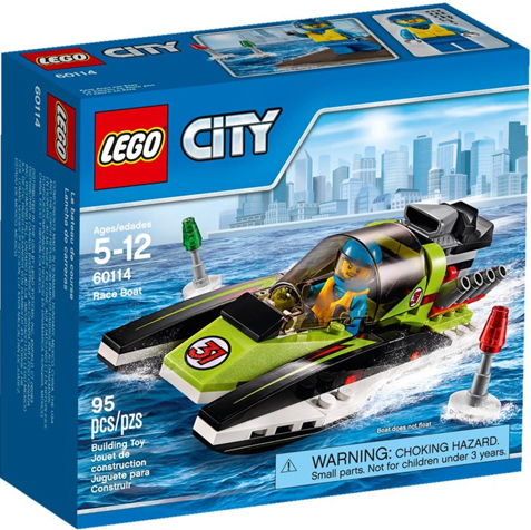 LEGO City Harbor Race Boat 60114 - CEO Parker's LEGO Collection - Brand NEW Sealed