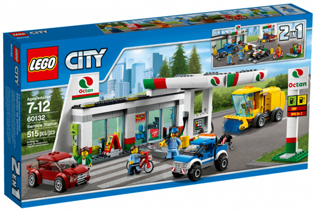 LEGO City Gas Service Station 60132  - CEO Parker's LEGO Collection - Brand NEW Sealed