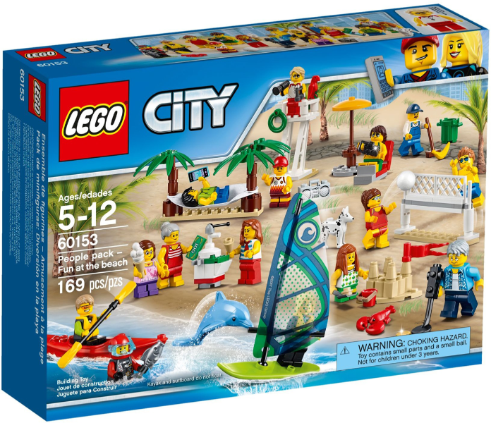 LEGO City People pack - Fun at the beach set 60153