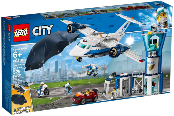 LEGO City Police: Sky Police Air Base 60210