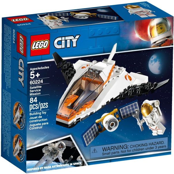 LEGO City Space: Satellite Service Mission 60224