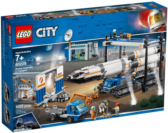 LEGO City Space: Rocket Assembly & Transport 60229
