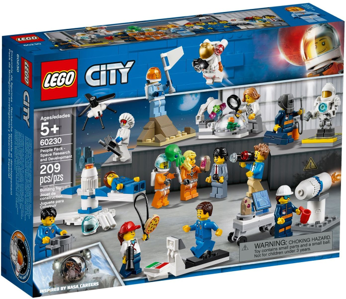 LEGO Space People Pack - Space Research and Development 60230