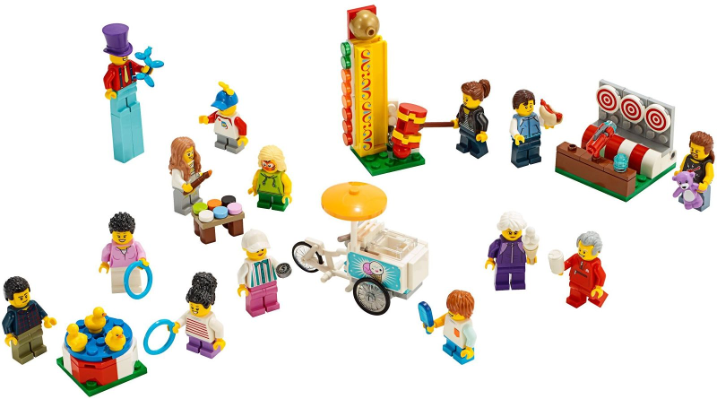 LEGO City Recreation People Pack - Fun Fair 60234