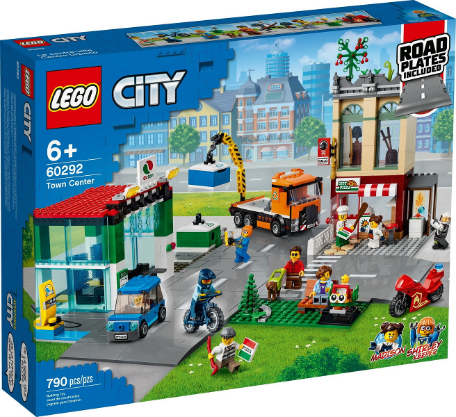 LEGO City Town Center set 60292
