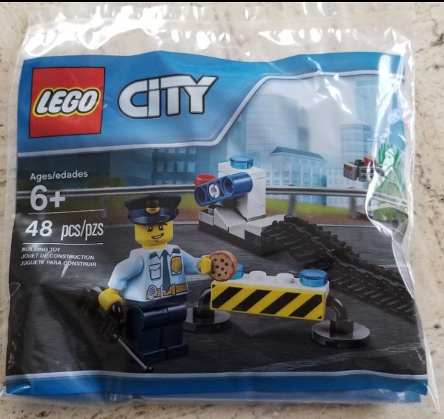 LEGO Polybag - City Police Mission Pack set 6182882
