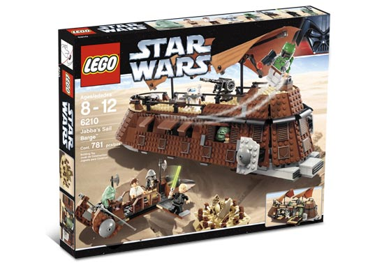 LEGO Star Wars Episode 4/5/6: Jabba's Sail Barge set 6210