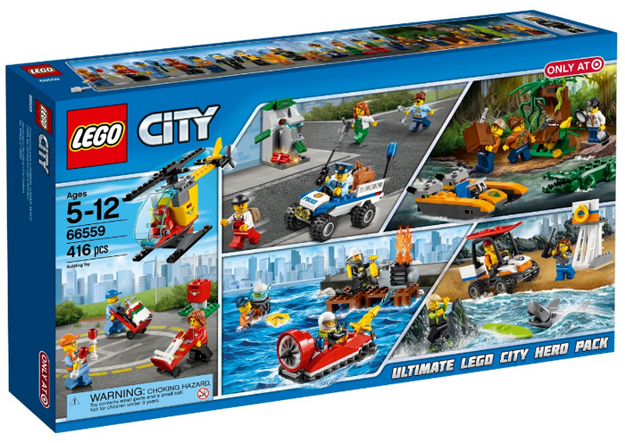 LEGO City: Ultimate LEGO City Hero Pack 5 in 1 set 66559