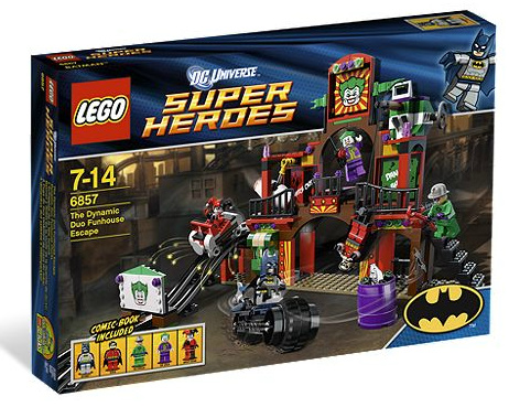 LEGO-Super Heroes: Batman II: The Dynamic Duo Funhouse Escape set 6857-sold-by-Brick-Loot