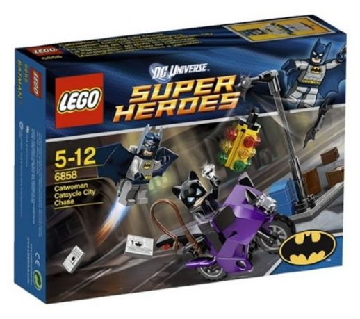 LEGO Super Heroes: Batman II: Catwoman Catcycle City Chase set 6858
