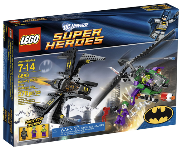 LEGO Super Heroes: Batman II: Batwing Battle Over Gotham City set 6863