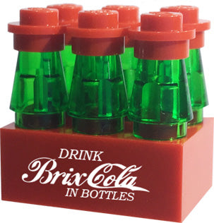 Brick Loot Exclusive Brix Cola 6 Pack Custom LEGO® LIMITED EDITION