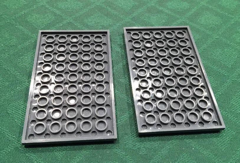 Generic High Quality 6x10 Grey Plate - 100% Compatible with LEGO and other major brands.