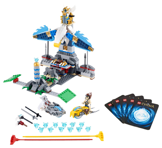 LEGO Legends of Chima: Eagles' Castle 70011 - CEO Parker's LEGO Collection - Used LEGO Complete