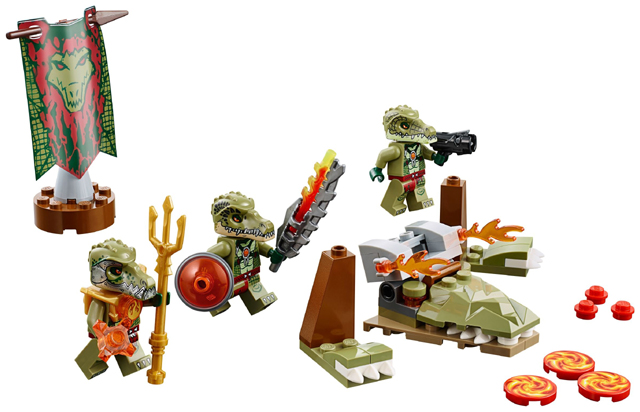 LEGO Legends of Chima: Crocodile Tribe Pack 70231 - CEO Parker's LEGO Collection - Used LEGO Complete