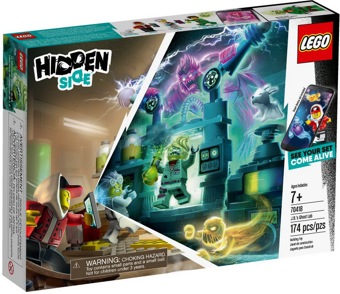LEGO Hidden Side: J.B.'s Ghost Lab set 70418