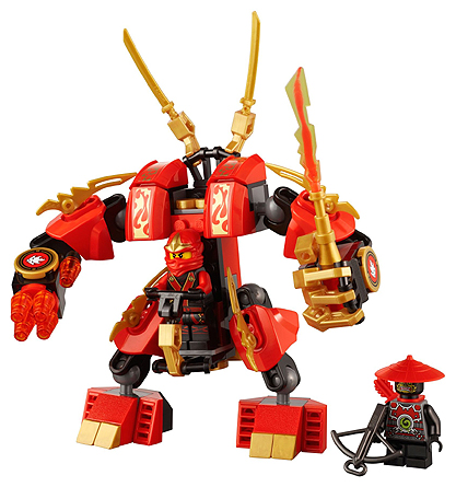 LEGO Ninjago: The Final Battle: Kai's Fire Mech 70500 - CEO Parker's LEGO Collection - Used LEGO Complete