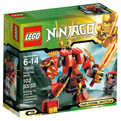 LEGO Ninjago: The Final Battle: Kai's Fire Mech set 70500
