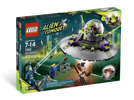 LEGO Space: Alien Conquest: UFO Abduction set 7052