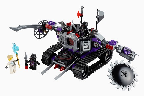 Lego Ninjago Rebooted Destructoid 70726 - Ceo Parker\'s Lego Collection - Used Lego Complete
