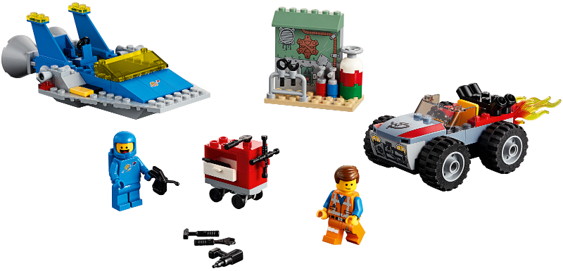 LEGO The LEGO Movie 2: Emmet and Benny's 'Build and Fix' Workshop! set 70821