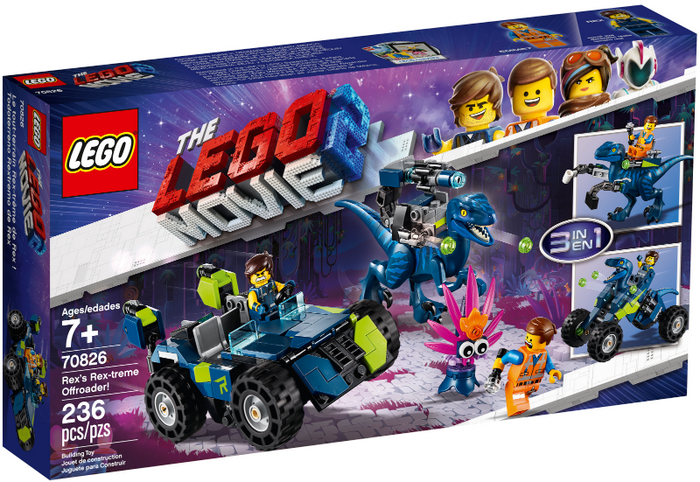 LEGO The LEGO Movie 2: Rex's Rex-treme Offroader set 70826