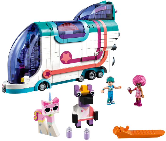 LEGO The LEGO Movie 2: Pop-Up Party Bus set 70828