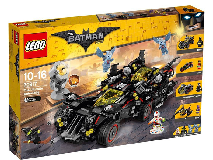 LEGO The LEGO Batman Movie: The Ultimate Batmobile set 70917