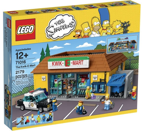 LEGO The Simpsons: The Kwik-E-Mart set 71016