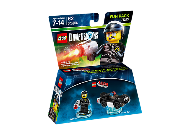 LEGO Dimensions Fun Pack - The LEGO Movie Bad Cop and Police Car 71213