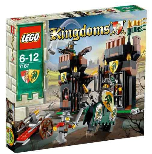 LEGO Castle: Kingdoms: Escape from Dragon's Prison set 7187