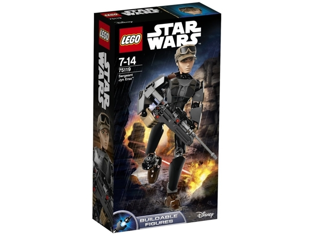 LEGO Buildable Figures: Star Wars Rogue One: Sergeant Jyn Erso set 75119