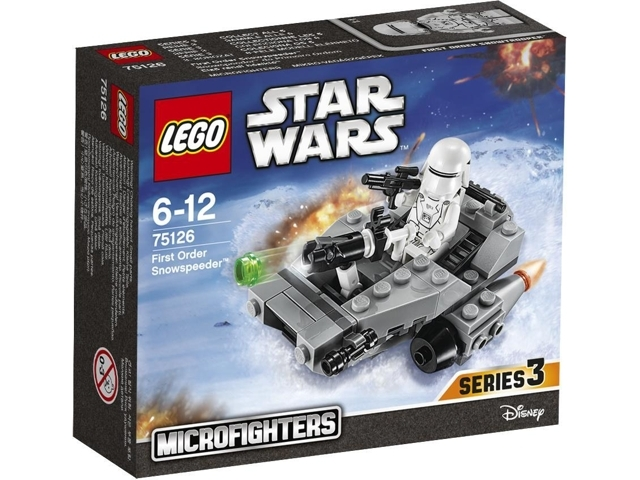 LEGO Star Wars Microfighters Series 3: Star Wars Episode 7: First Order Snowspeeder set 75126