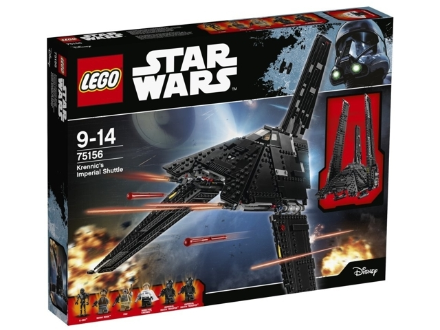 LEGO Star Wars Krennic's Imperial Shuttle set 75156