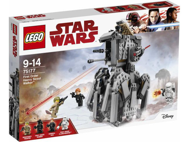 LEGO Star Wars Episode 8: First Order Heavy Scout Walker set 75177