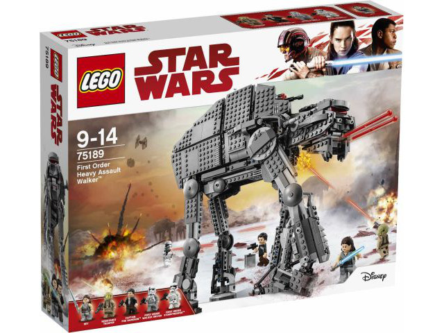 LEGO Star Wars First Order Heavy Assault Walker 75189 - CEO Parker's LEGO Collection - Brand NEW Sealed