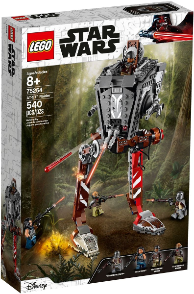 LEGO Star Wars Mandalorian AT-ST Raider 75254