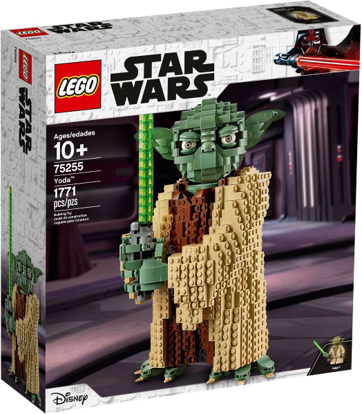 LEGO Star Wars: Sculptures: Star Wars Episode 3: Yoda set 75255