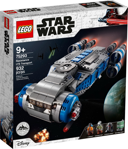 LEGO Star Wars Galaxy's Edge: Resistance I-TS Transport set 75293