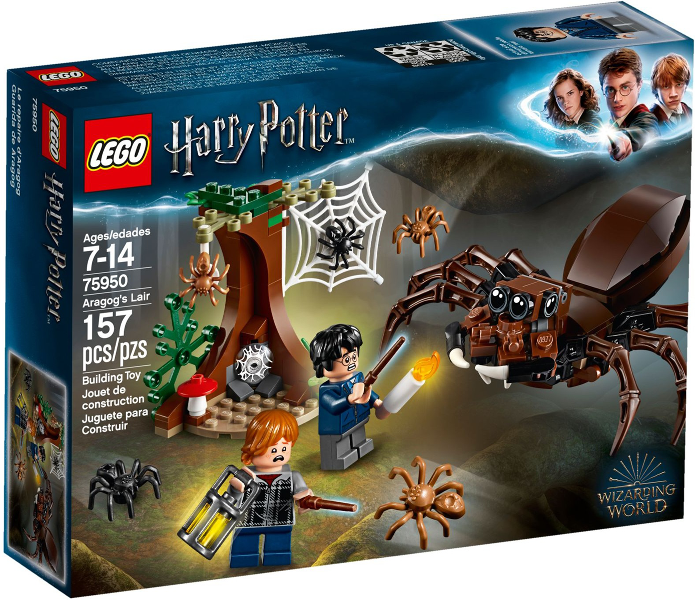 LEGO Harry Potter: Aragog's Lair set 75950