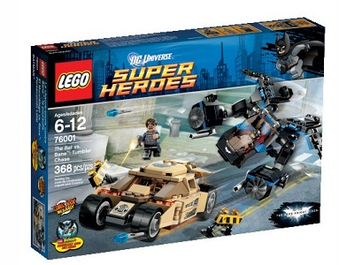LEGO Super Heroes: The Dark Knight Trilogy: The Bat vs. Bane: Tumbler Chase set 76001